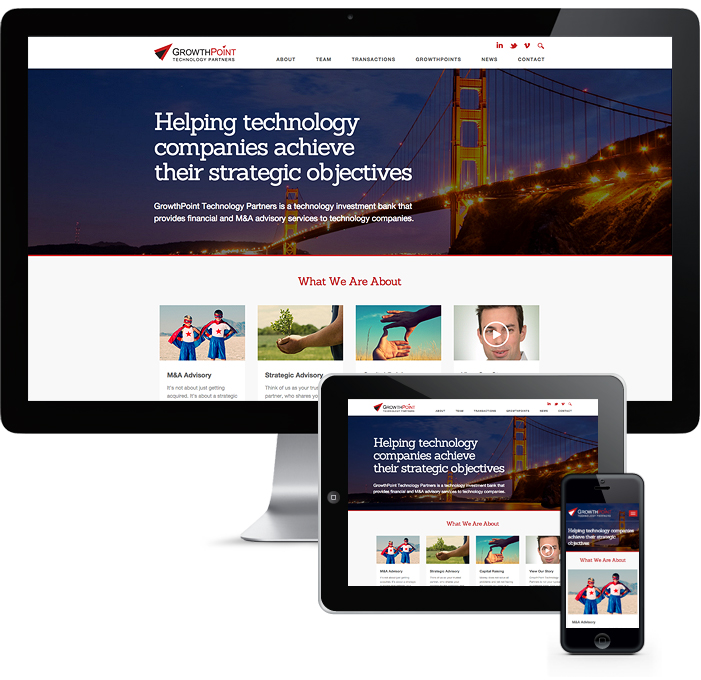 growthpoint responsive website