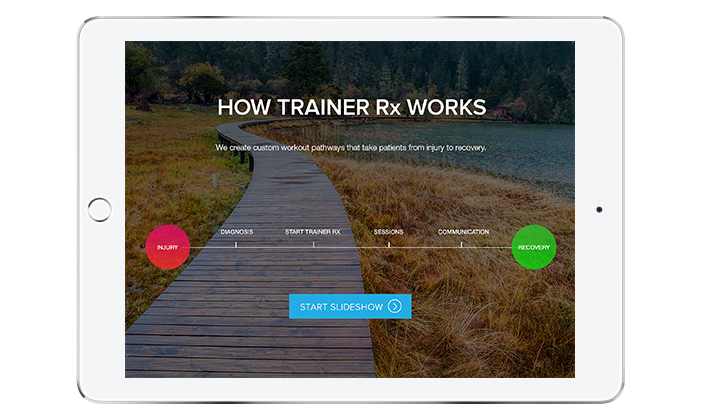 Trainer Rx Website Design